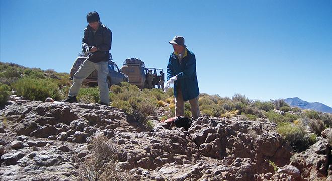 地表地質調査